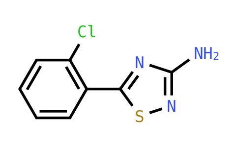 5-(2-Chlorophenyl)-1,2,4-thiadiazol-3-amine