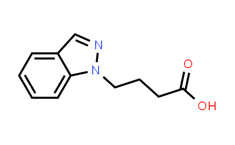 4-(1H-Indazol-1-yl)butanoic acid