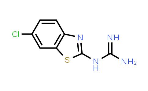N-(6-Chloro-1,3-benzothiazol-2-yl)guanidine