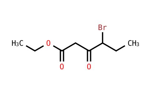 Ethyl 4-bromo-3-oxohexanoate
