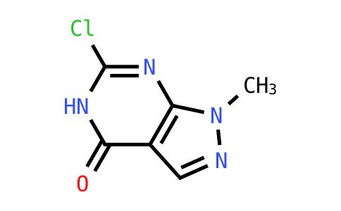 6-Chloro-1-methyl-1H,4H,5H-pyrazolo-[3,4-d]pyrimidin-4-one