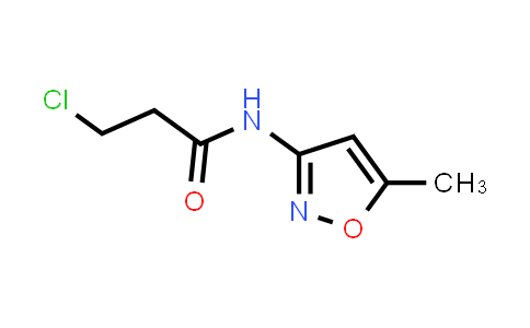 3-Chloro-N-(5-methylisoxazol-3-YL)propanamide