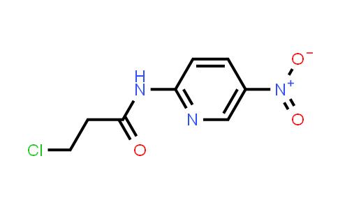 3-Chloro-N-(5-nitropyridin-2-YL)propanamide