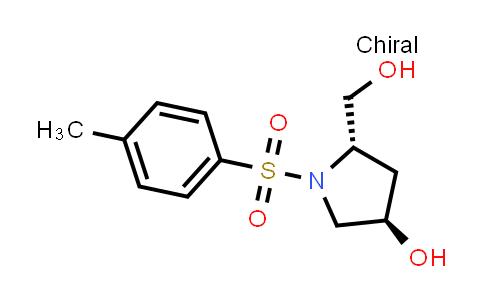 (3R,5s)-5-(hydroxymethyl)-1-tosylpyrrolidin-3-ol