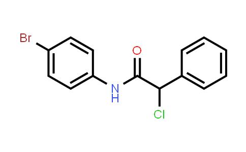 N-(4-bromophenyl)-2-chloro-2-phenylacetamide