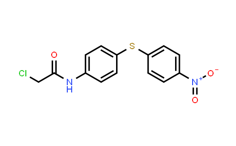 2-Chloro-N-{4-[(4-nitrophenyl)-thio]phenyl}acetamide