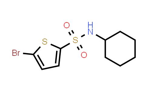 5-Bromo-N-cyclohexylthiophene-2-sulfonamide