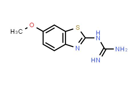 N-(6-Methoxy-1,3-benzothiazol-2-yl)guanidine