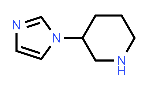 3-(1H-Imidazol-1-yl)piperidine