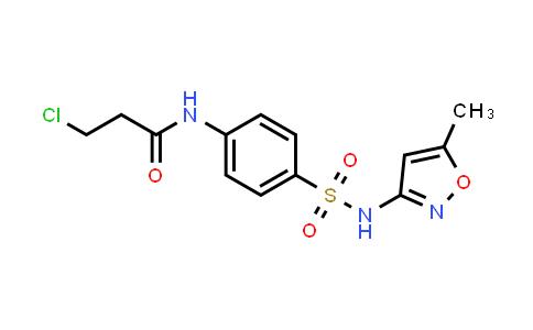 3-Chloro-N-(4-{[(5-methylisoxazol-3-YL)-amino]sulfonyl}phenyl)propanamide