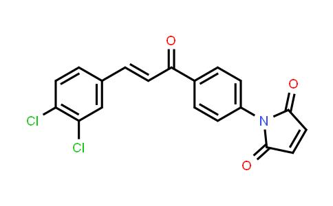 1-{4-[(2E)-3-(3,4-Dichlorophenyl)prop-2-enoyl]phenyl}-1H-pyrrole-2,5-dione