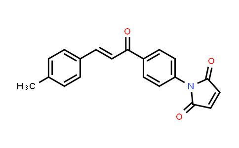 1-{4-[(2E)-3-(4-Methylphenyl)prop-2-enoyl]phenyl}-1H-pyrrole-2,5-dione