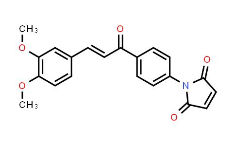 1-{4-[(2E)-3-(3,4-Dimethoxyphenyl)prop-2-enoyl]phenyl}-1H-pyrrole-2,5-dione