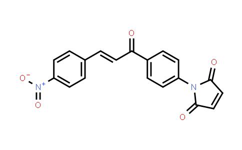 1-{4-[(2E)-3-(4-Nitrophenyl)prop-2-enoyl]phenyl}-1H-pyrrole-2,5-dione