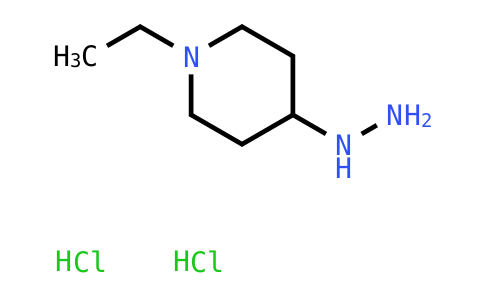 1-Ethyl-4-hydrazinylpiperidine dihydrochloride
