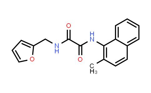 N1-(furan-2-ylmethyl)-N2-(2-methylnaphthalen-1-YL)oxalamide
