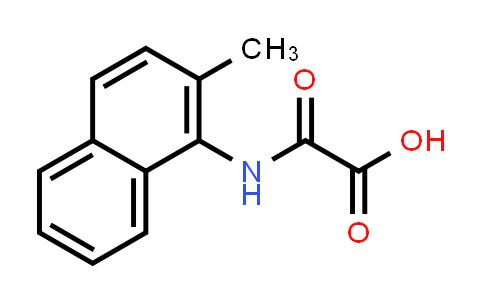 2180146-10-3 | 2-[(2-Methyl-1-naphthalenyl)amino]-2-oxo- acetic acid