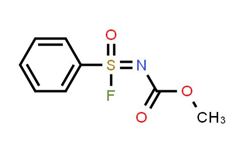 1839620-83-5 | methyl N-[fluoro(oxo)phenyl-lambda6-sulfanylidene]carbamate