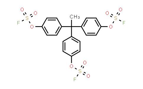 S,S',S''-(ethylidynetri-4,1-phenylene) ester Fluorosulfuric acid