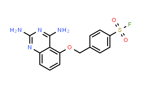 1648793-80-9 | 4-{[(2,4-diaminoquinazolin-5-yl)oxy]methyl}benzenesulfonyl fluoride