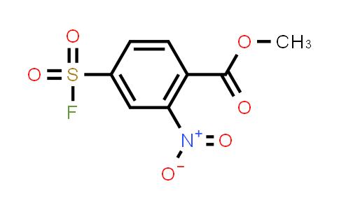 methyl 4-(fluorosulfonyl)-2-nitrobenzoate