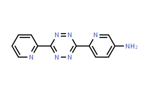 6-[6-(2-Pyridinyl)-1,2,4,5-tetrazin-3-yl]-3-pyridinamine