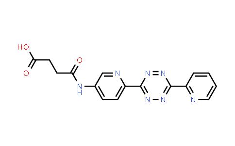 4-Oxo-4-[[6-[6-(2-pyridinyl)-1,2,4,5-tetrazin-3-yl]-3-pyridinyl]amino]butanoic acid
