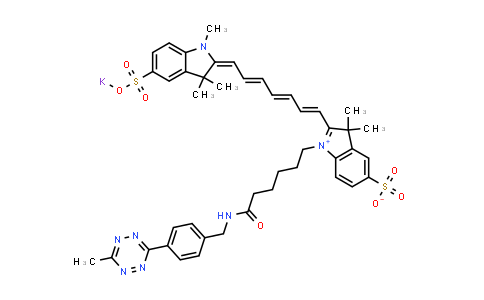 Me-tetrazine-Disulfo-Cyanine7