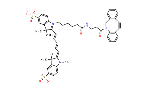 DBCO-Disulfo-Cyanine5