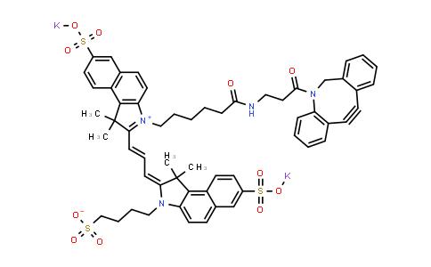DBCO-trisulfo-Cyanine5.5