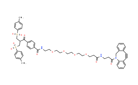 Bis-sulfone-peg4-dbco