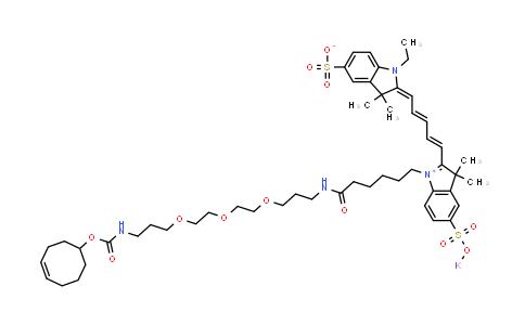 Sulfo-Cy5-(4E)-TCO