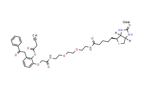 TR1185 | UV Cleavable Biotin-PEG2-alkyne