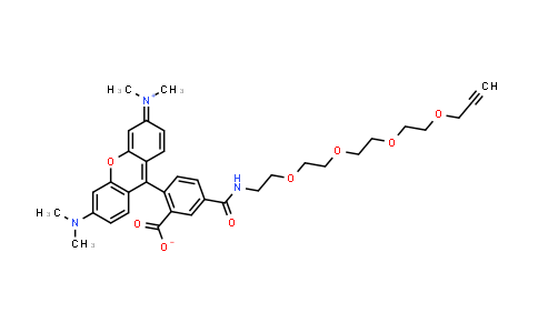 1225057-68-0   TAMRA-PEG4-Alkyne