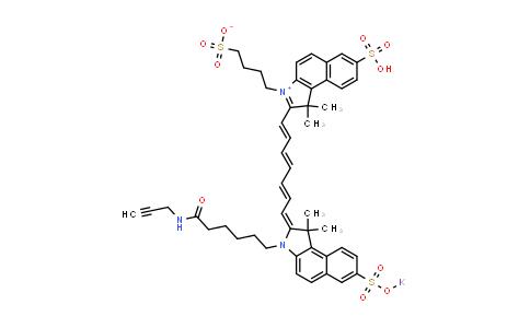 TR1203 | diSulfo-ICG alkyne