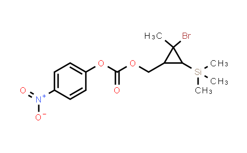 2-​bromo-​2-​methyl-​3-​(trimethylsilyl)​-Cyclopropanemethanol​ PNB ester