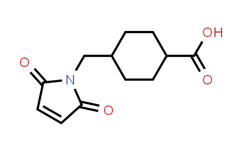 64987-82-2 | 4-((2,5-Dioxo-2,5-dihydro-1H-pyrrol-1-yl)methyl)cyclohexanecarboxylic acid