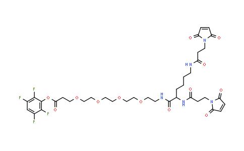 1426164-53-5 | Bis-Mal-Lysine-PEG4-TFPester