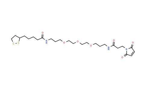 1314378-19-2 | Lipoamide-PEG3-Mal