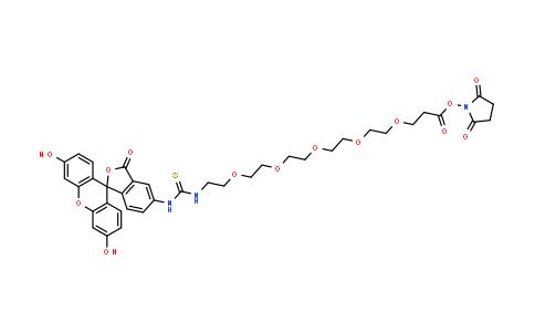 2353409-62-6   Flurescein-PEG5-NHS ester