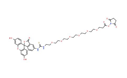 Flurescein-PEG6-NHS ester