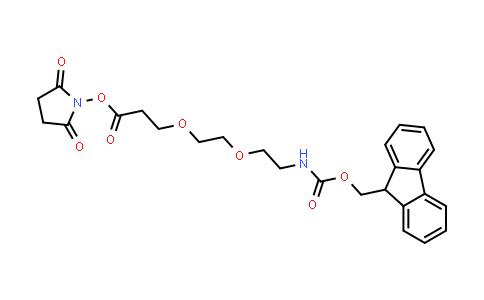 FmocNH-PEG2-NHS ester