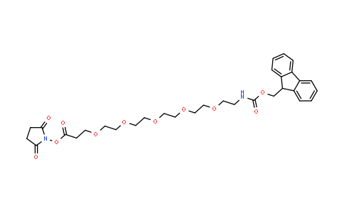 FmocNH-PEG5-NHS ester
