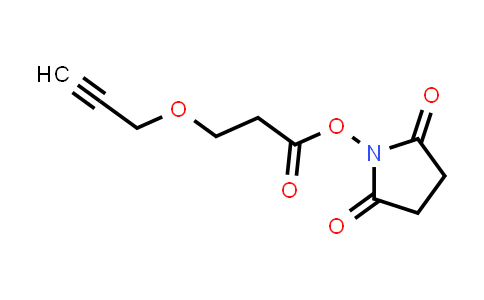 Propargyl-PEG1-NHS ester