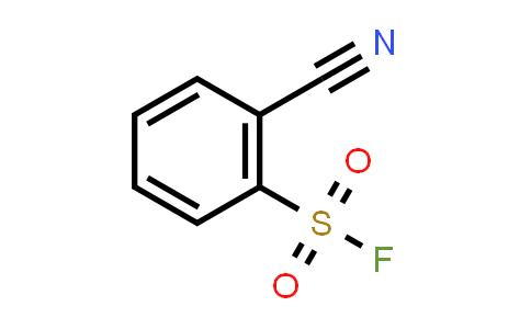 395-46-0   2-cyano-Benzenesulfonyl fluoride