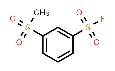 3-(methylsulfonyl)benzenesulfonyl fluoride