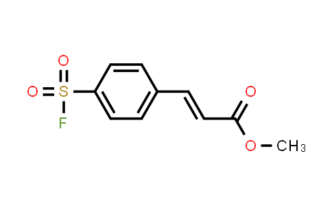 Methyl 3-[4-(fluorosulfonyl)phenyl]prop-2-enoate