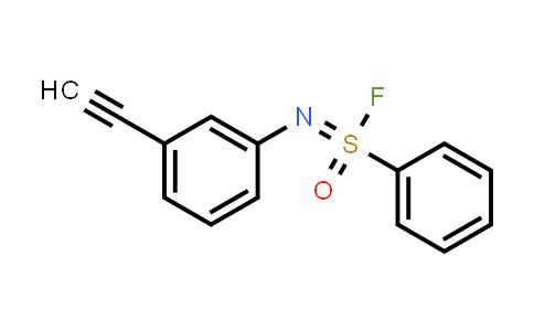 Benzenesulfonimidoyl fluoride,N-(3-ethynylphenyl)-