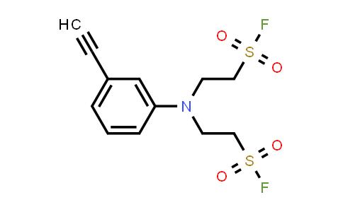 2,2'-[(3-ethynylphenyl)imino]bis-Ethanesulfonyl fluoride