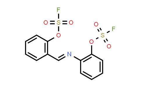 Fluorosulfuric acid, 2-[(E)-[[2-[(fluorosulfonyl)oxy]phenyl]imino]methyl]phenyl ester